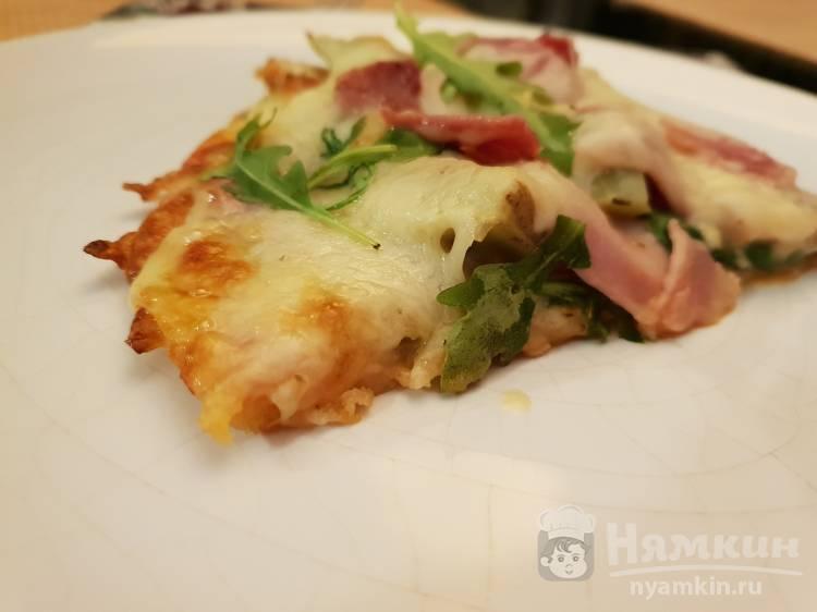 Пицца с беконом по-домашнему
