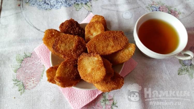 Сладкий картофель в панировочных сухарях