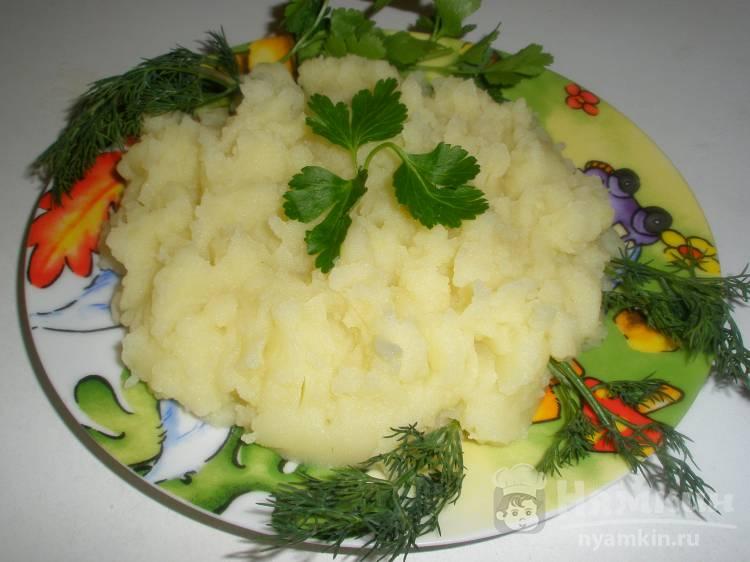 Картофельное пюре с бульонным кубиком