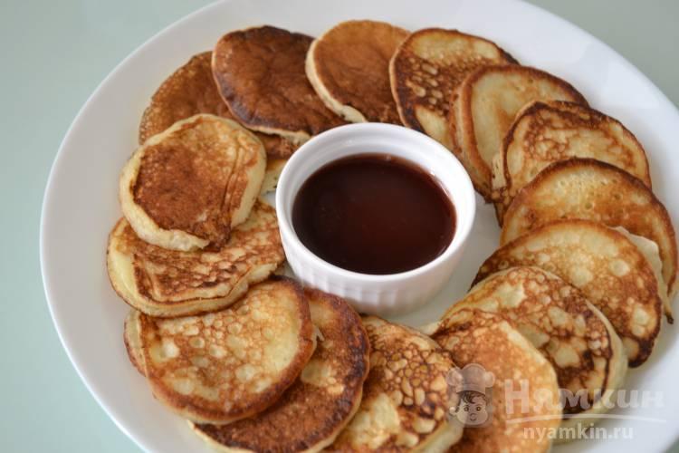 Оладушки на кефире к завтраку