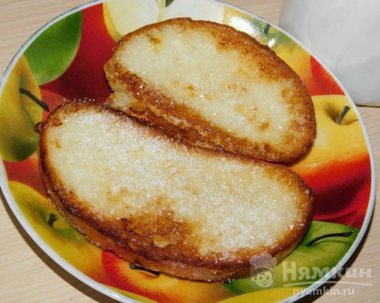 Французские гренки с сахаром