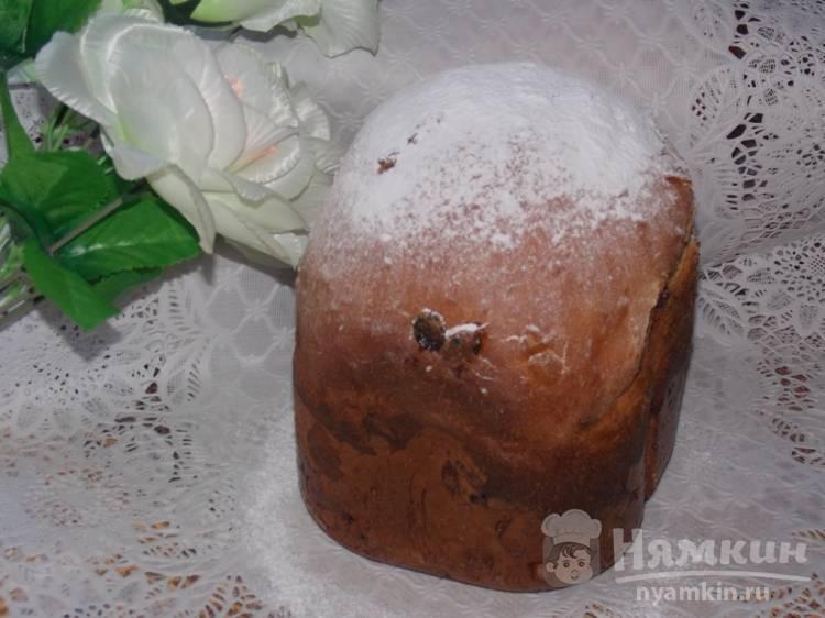 Сладкий хлеб к чаю с изюмом в хлебопечке