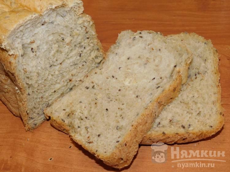 Домашний хлеб с семенами