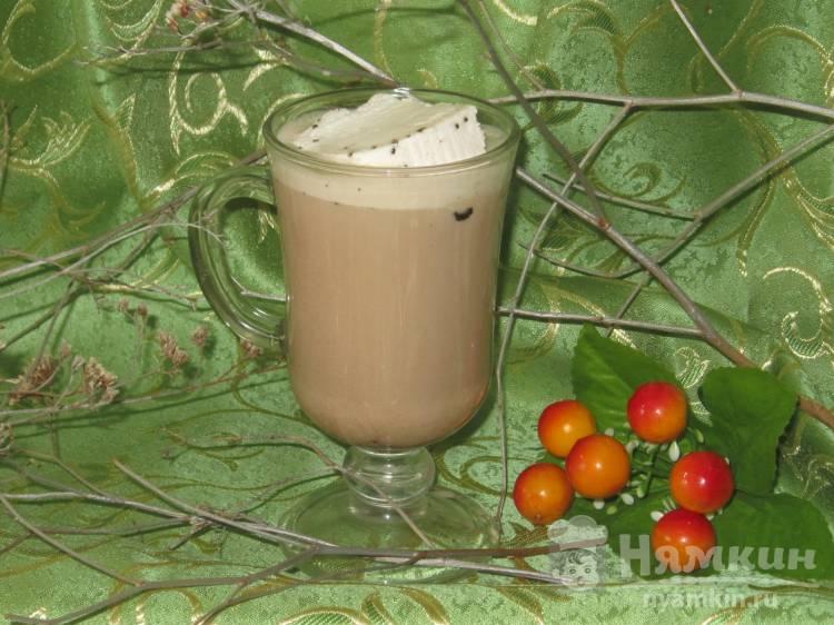 Какао напиток с мороженым