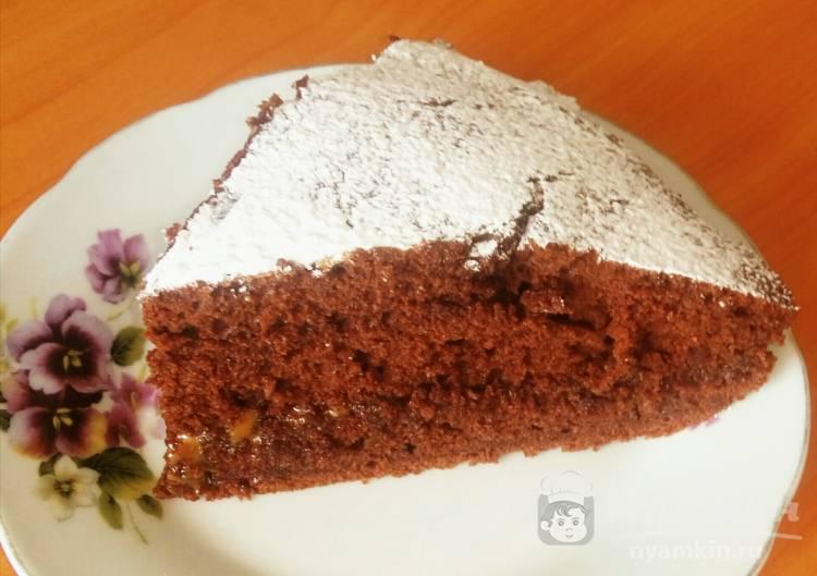 Шикарный шоколадный бисквит