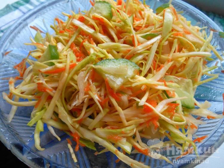 Лёгкий ПП салатик из овощей