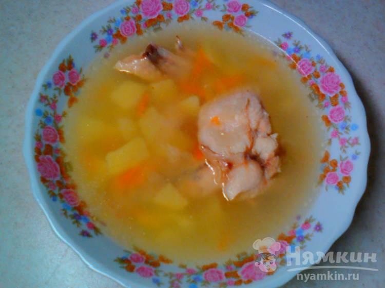 Картофельный суп с куриными крылышками