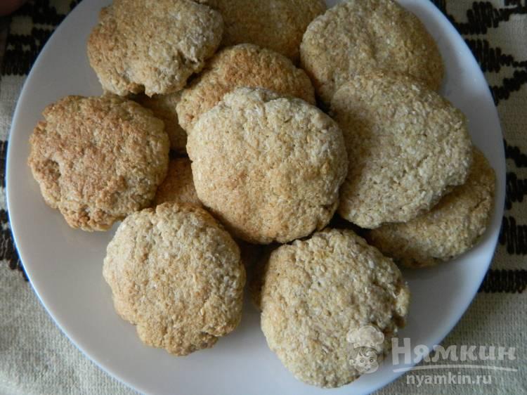 Песочное кокосовое печенье