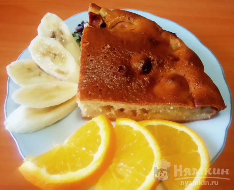 Пирог с бананом и апельсиновой цедрой