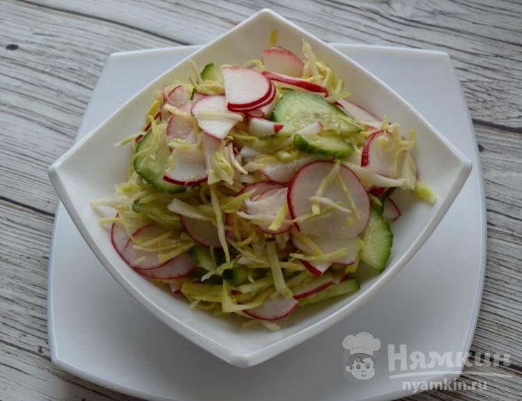 Салат из капусты Весенний