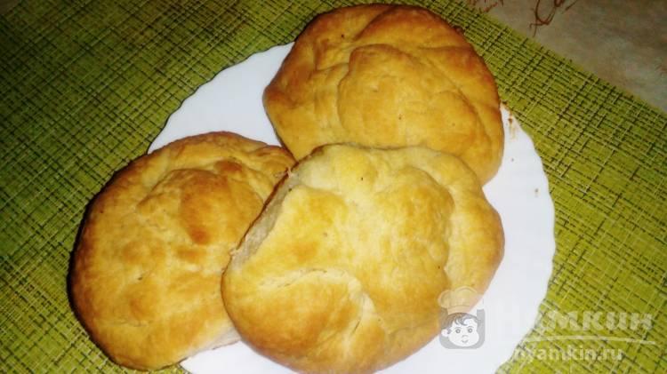 Воздушные булочки с вареной сгущенкой в духовке