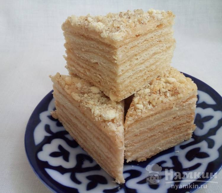 Неклассический торт Медовик