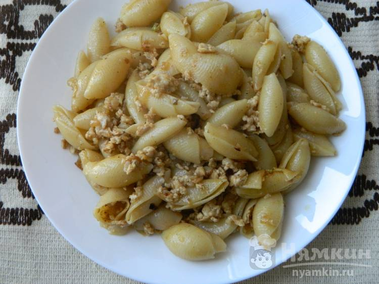 Классический рецепт макарон по-флотски