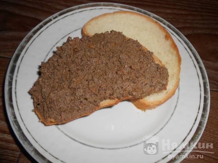 Печёночный паштет из свиной печени