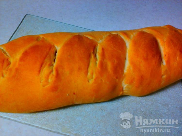 Пирог с варёным картофелем