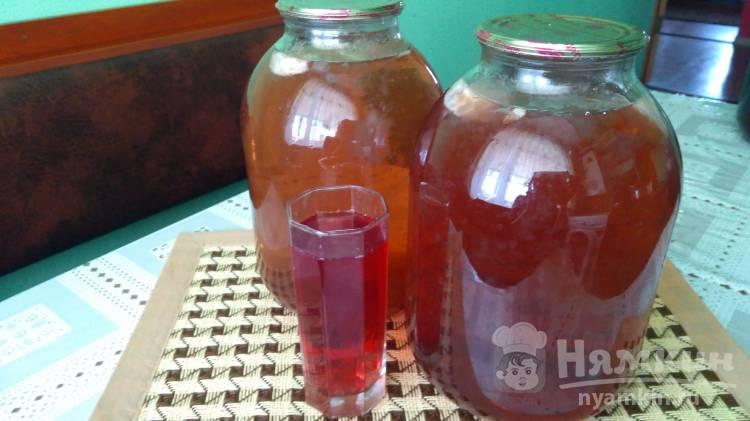 Березовый сок с каркаде