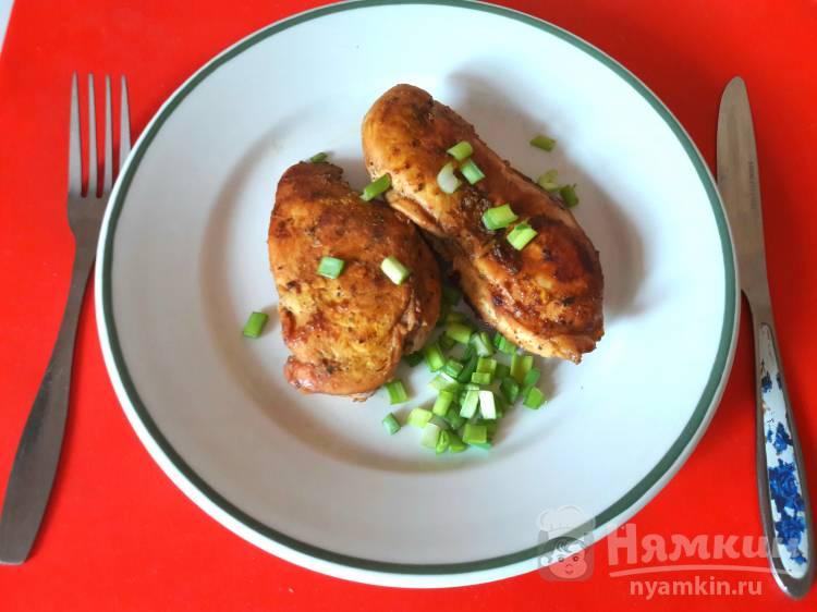 Филе курицы запеченное в мультиварке под соевым соусом