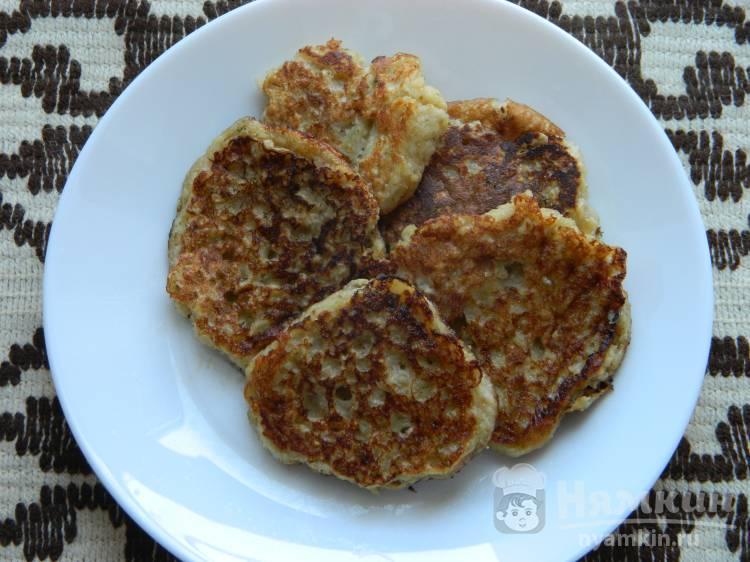 Овсяные оладушки на завтрак
