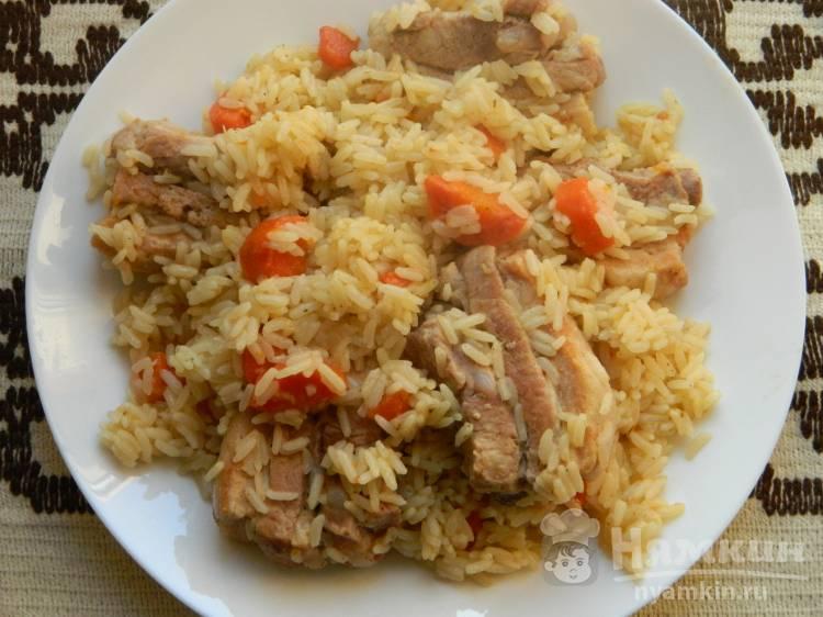Ароматный рис с ребрышками