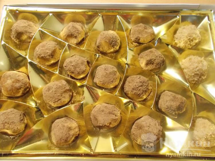 Конфеты из печенья Картошка