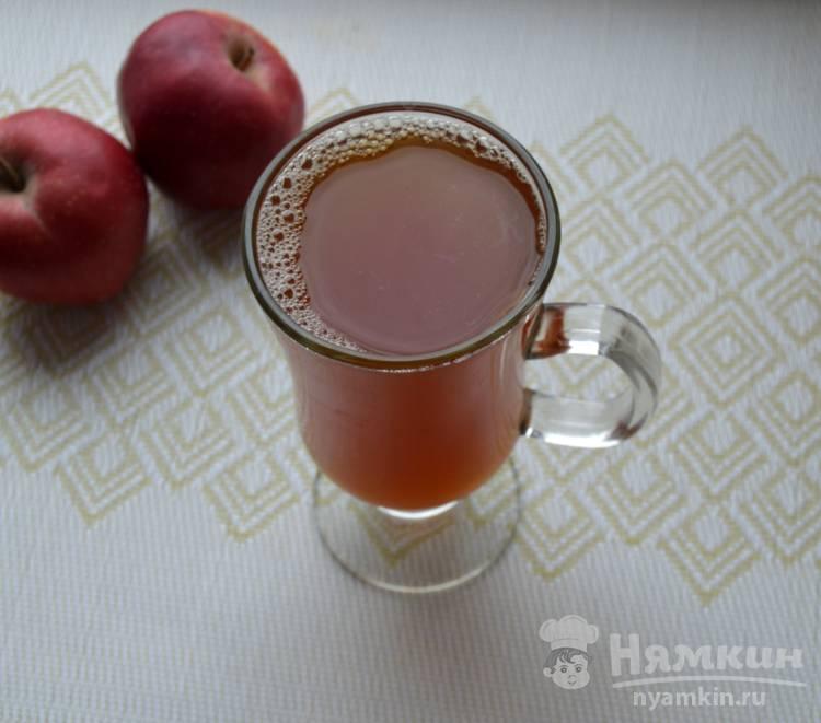 Компот из шиповника и яблок