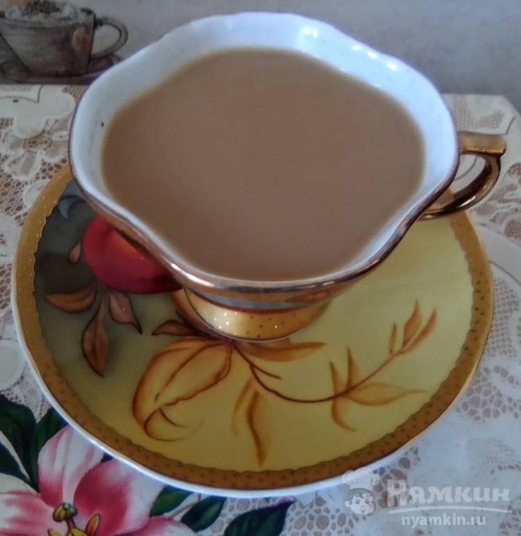 Кофе с медом и сливками