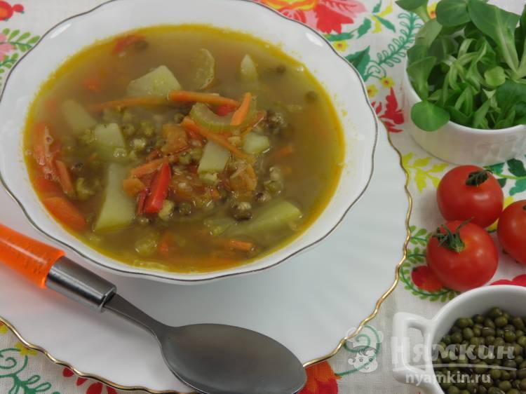 Суп с машем и овощами