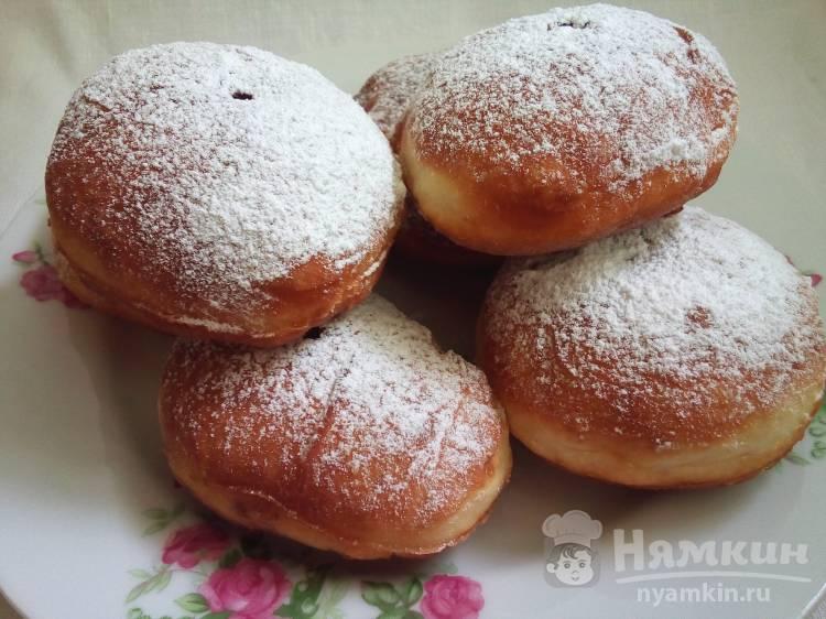 Пончики с вареньем Суфганиет