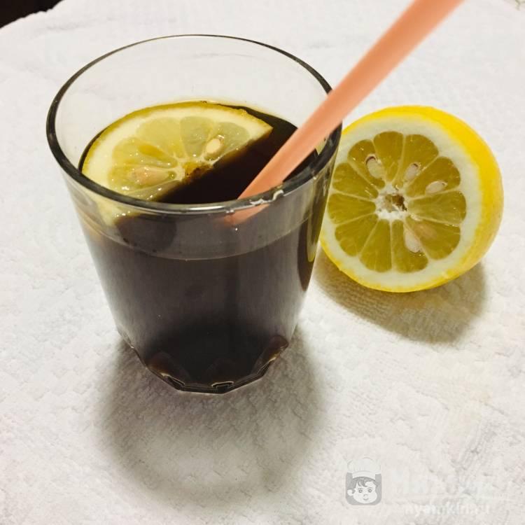 Компот из чернослива с лимоном
