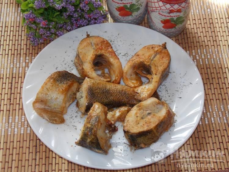 Кусочки судака во вкусном маринаде запеченные в духовке