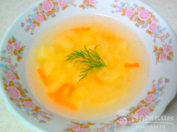 Суп из гусиного бульона