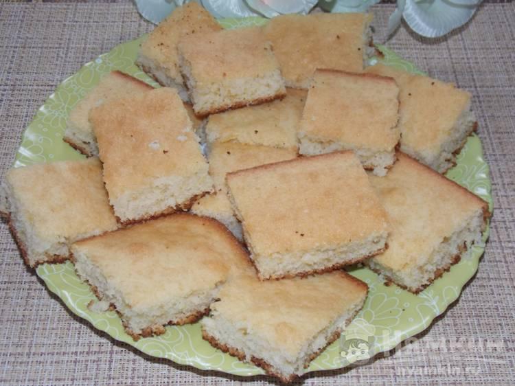 Бисквитный пирог на лимонаде в духовке