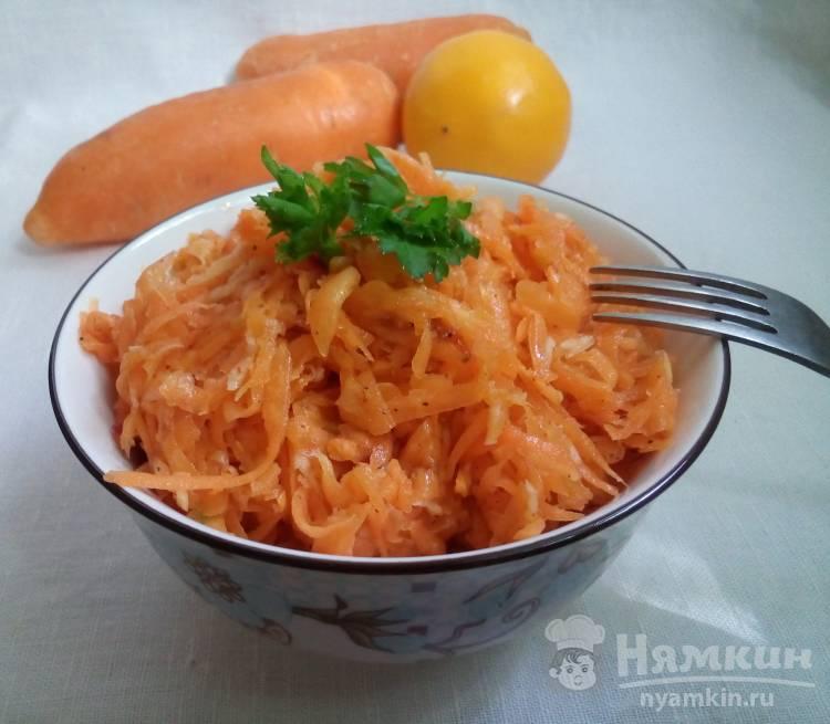 Быстрый салат из моркови