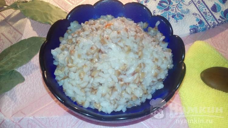 Мульти-каша из гречки и риса