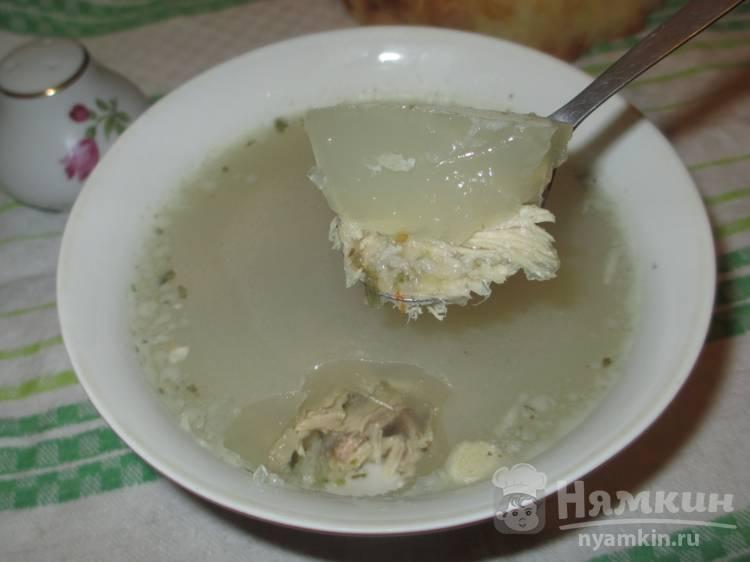 Холодец из свиного задка с желатином