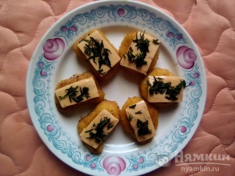 Наггетсы с сыром и зеленью
