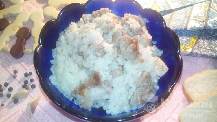 Рис с бараниной в мультиварке