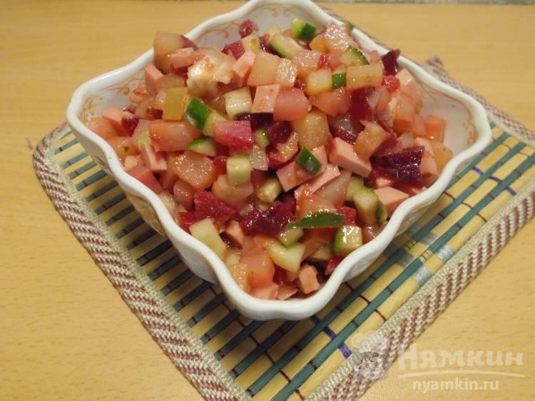Острый салат из свеклы