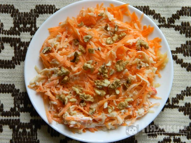 Полезный салат Витаминный