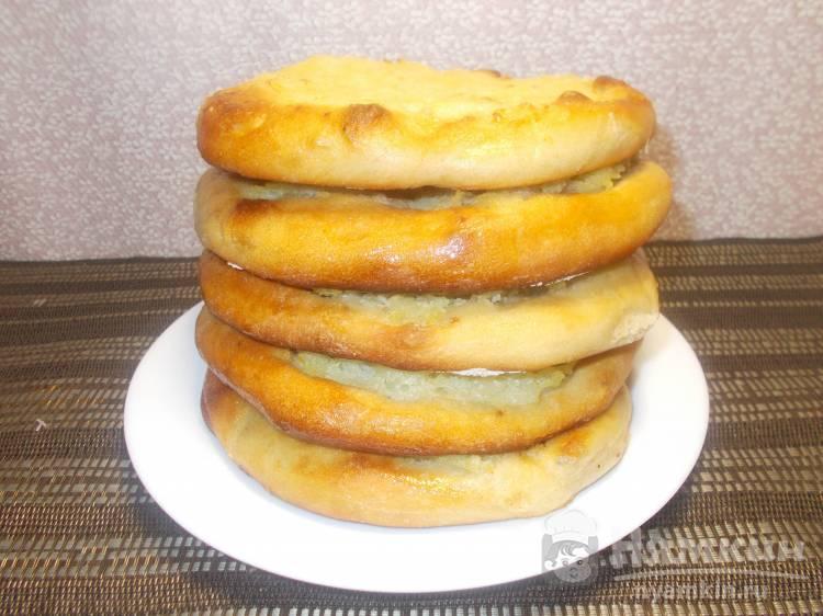 Шаньги с картофельным пюре