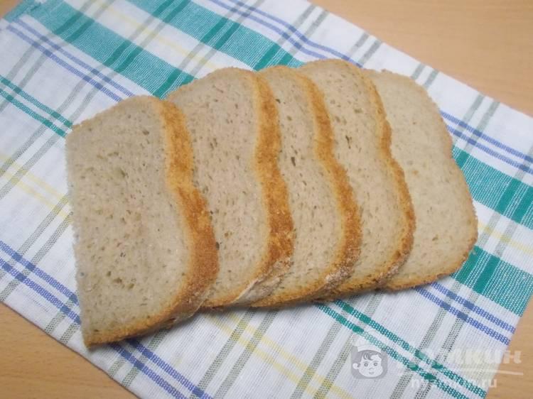 Хлеб на простокваше на закваске