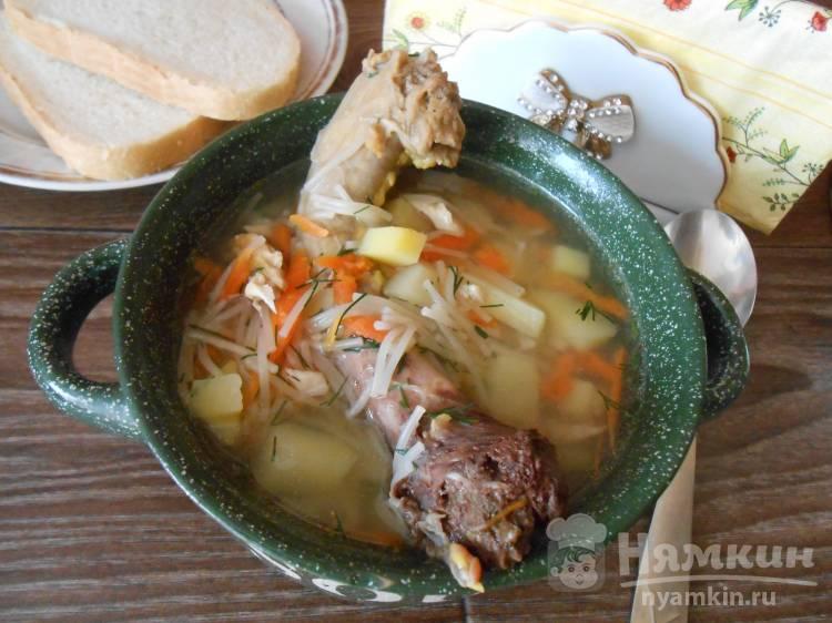 Вкусный вермишелевый суп