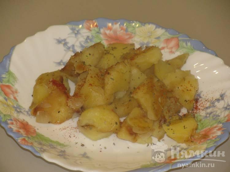 Жаренный картофель со специями