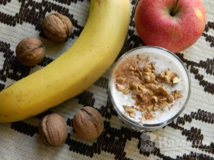 Ореховая овсянка на завтрак