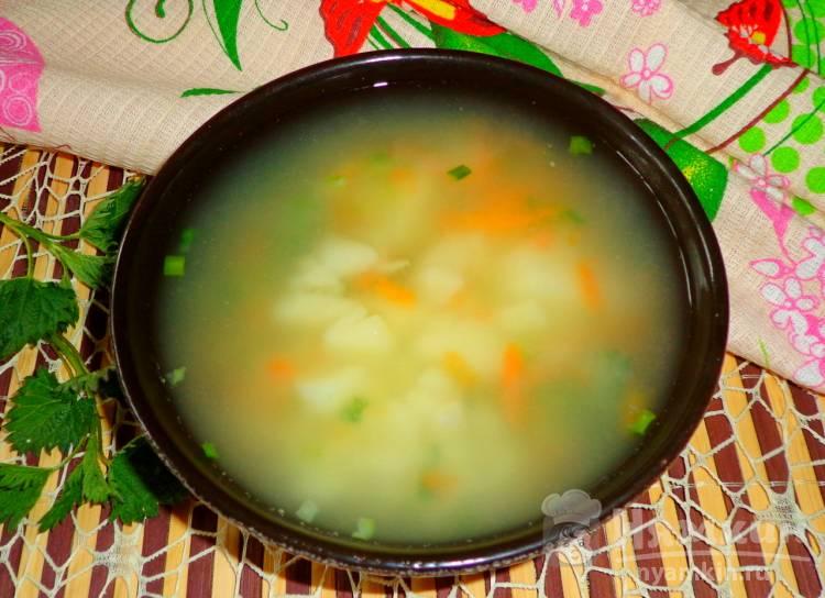 Суп с крапивой и вермишелью