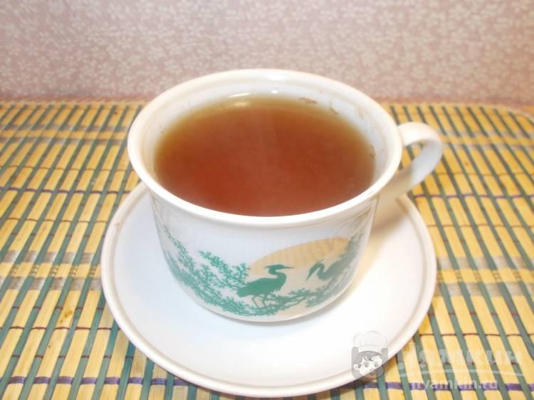 Витаминный чай с чагой