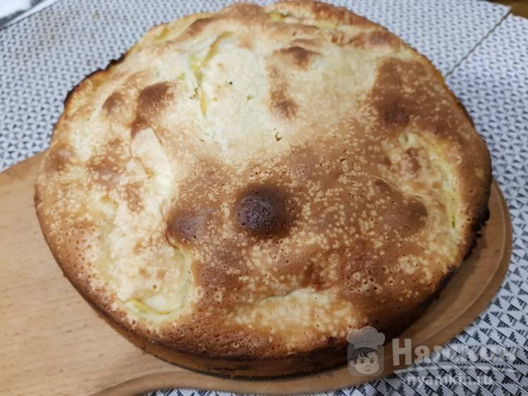 Вкусный яблочный пирог по классическому рецепту