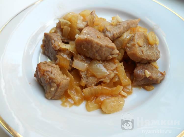 Рецепт с фото пошагово жаркое со свининой