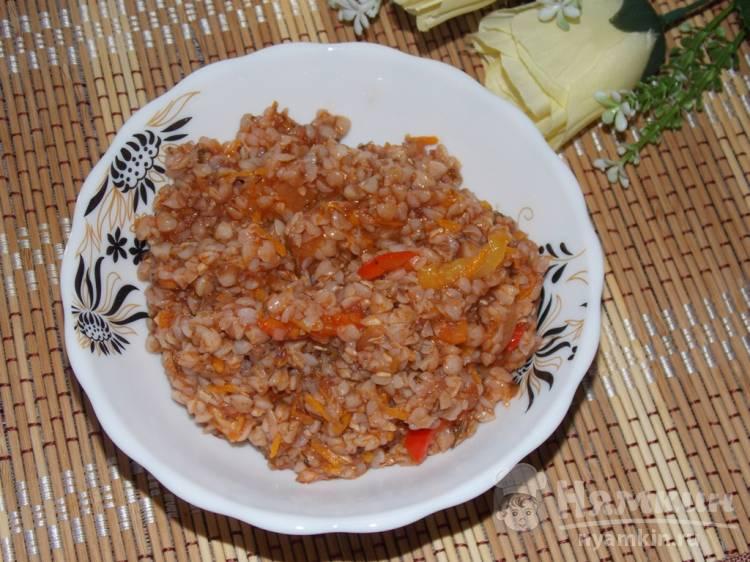 Каша гречневая рецепт с фото пошагово