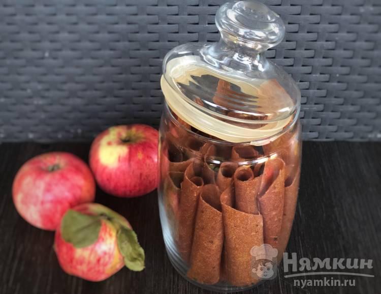 Домашняя яблочная пастила в сушилке для фруктов и овощей